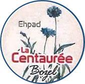 Logo Ehpad de Bozel : la Centaurée
